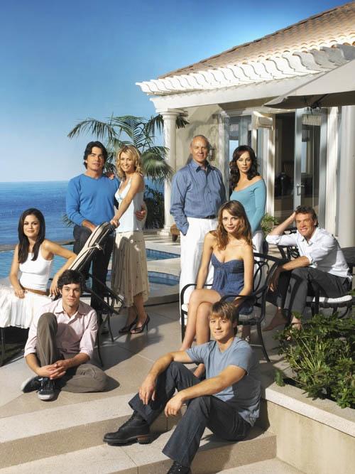 The OC ~ Cast of The O.C. Ben McKenzie, Mischa Barton, Adam Brody, Rachel Bilson, Peter Gallagher, Kelly Rowan, Melinda Clarke
