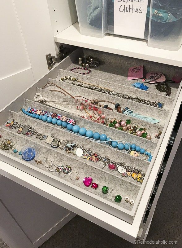 This Roll Out Tray With Jewelry Organizer Is One Of My Favorite