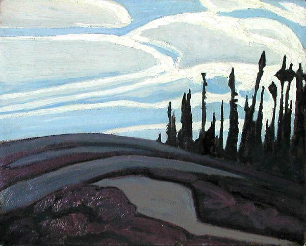 Lawren Harris, 'Near Lake Superior'