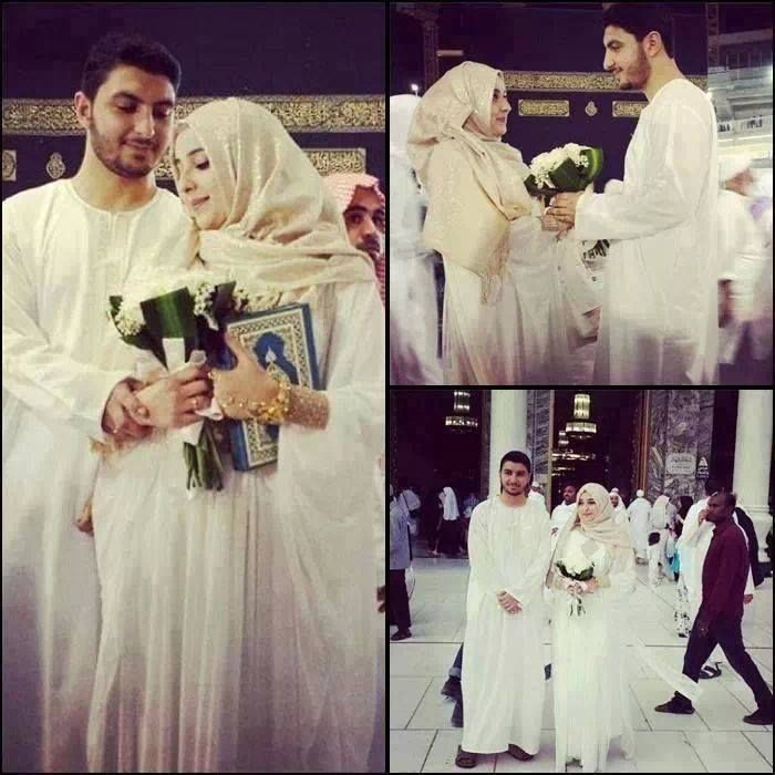 Wedding in Makkah! <3 ... ohh .. my nothing more precious ..