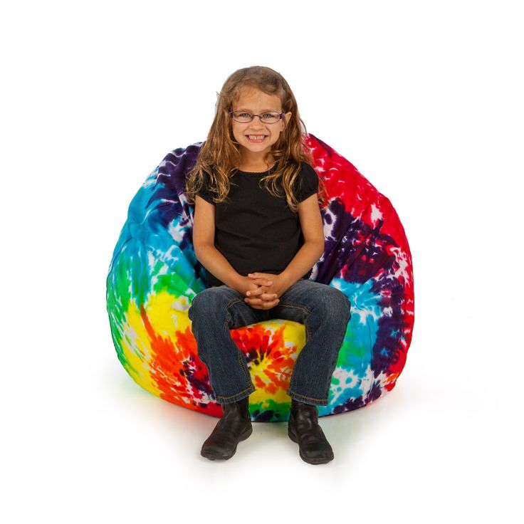 Our Tie Dye Bean Bag Chairs Come In 6 Different Groovy Color Combinations Each Beanbag Comes With A Removable And Washable Cover