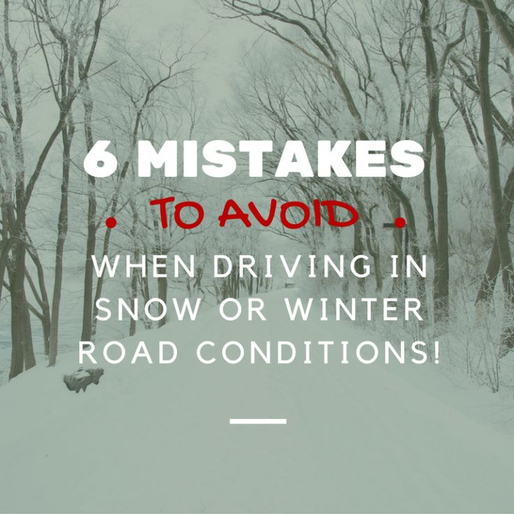 Get winter driving safety tips that help you when driving in snow and other winter road conditions, avoid accidents, and begin any family adventure