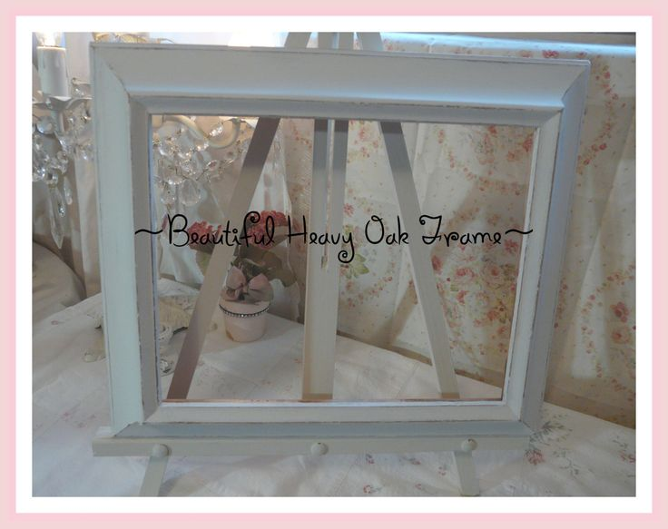 White Oak Picture Frame 8 x 10 So So Pretty! by WhatsThiss on Etsy