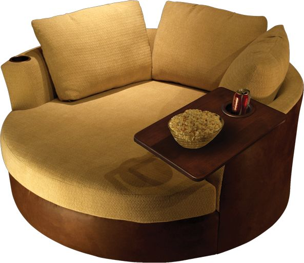 Cuddle couch from elitehometheaterseating.com $3995.