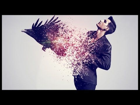 Photoshop CS6: Disintegration Effect | Raven - YouTube