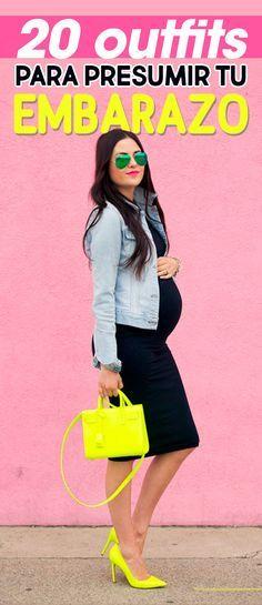 Outfits para presumir tu embarazo. Pregnancy fashion. Pregnancy outfits. Pregnancy dress. Chica usando un vestido de maternidad