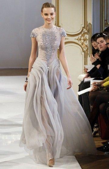 Christophe Josse #dress #silver #fashion #runway #trending #women #girl #apparel #shine #shining