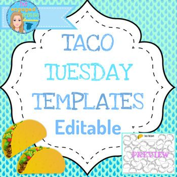 Spanish vocabulary games, Spanish grammar games, editable game, editable game boards, class game templates, vocabulary game template, grammar game template, editable, spanish editable, spanish classroom tool TACO TUESDAY EDITABLE TEMPLATES: Vocabulary /