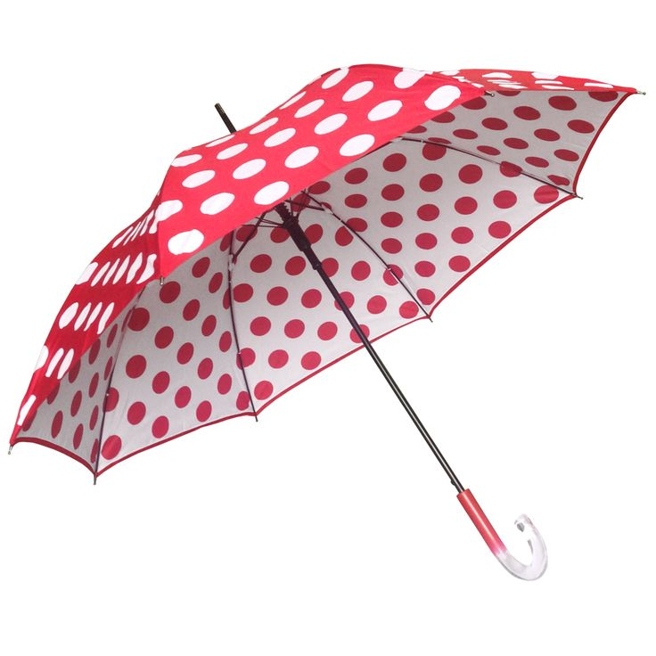 Clifton Double Cover Dot Series Red - Available now at Umbrellas & Parasols