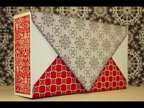 Envelope Punch Board Card Gift Box - YouTube