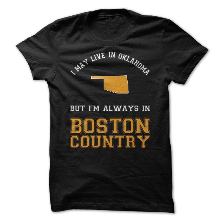 Oklahoma For Boston Country - $21.00 - Buy now