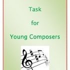 This is a very easy composition activity for young or beginning music students.  Excellent resource!  FREE to download now.: Music Student