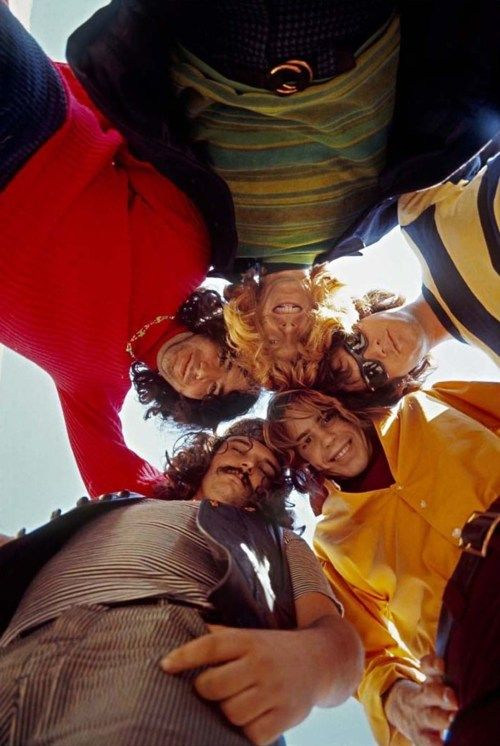 Grateful Dead, 1967. Photo by Jim Marshall.
