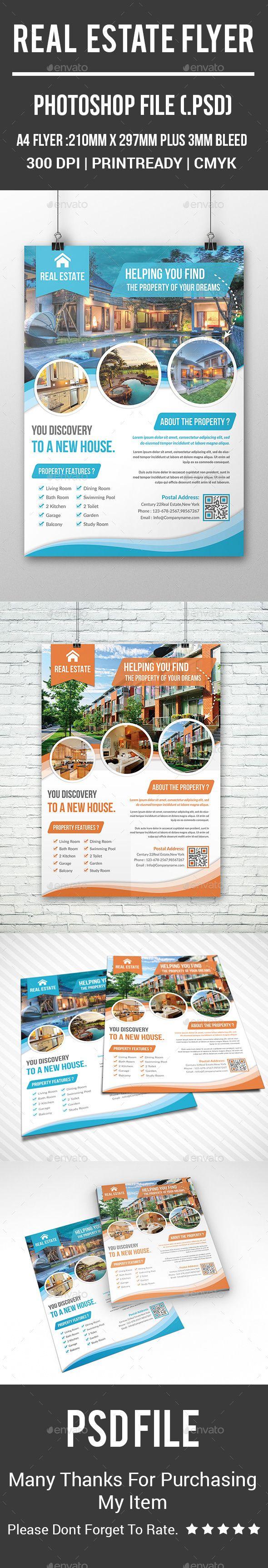 Real Estate Flyer Template PSD. Download here: http://graphicriver.net/item/real-estate-flyer/16078958?ref=ksioks