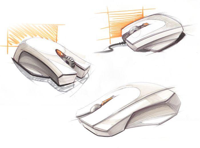 mouse marker sketch - Tomislav Kacunic