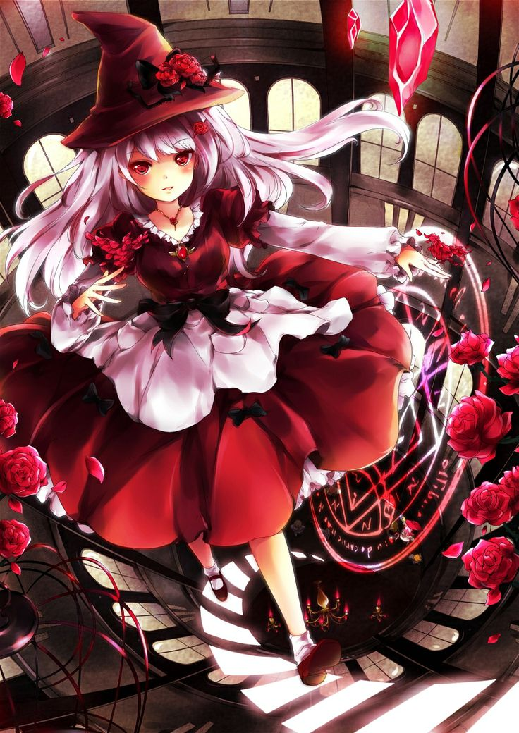 Red Witch By Yukihomu Anime Cuties Pinterest The O