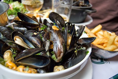 Zeeuwse mussels & fries - The Netherlands