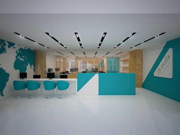 94 best travel agency design images on pinterest command for Travel agency office interior design