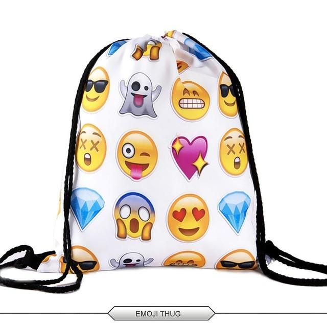 Deanfun Emoji Backpacks for Girls