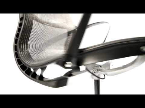 designer studio material innovation gives the setu chair its unique combination of flex and strength