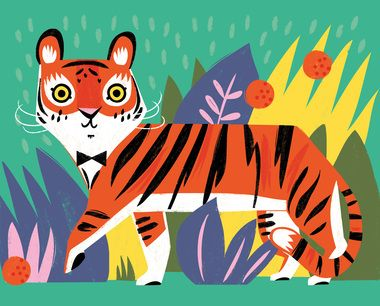 Tiger Art Print from Hooray Today