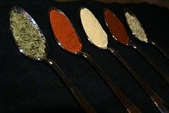 Spicy Spoons - Hungarian spices.