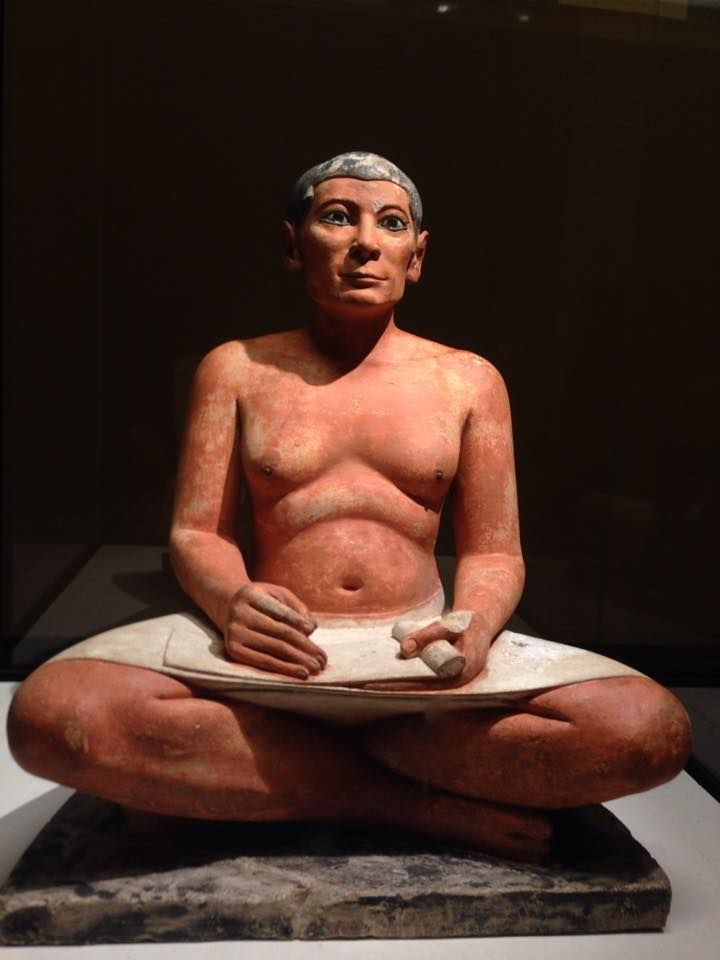 Le scribe accroupi - Egypte - Le Louvre