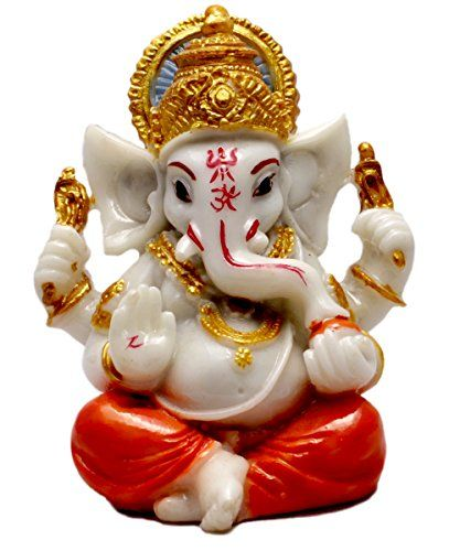 Hand Carved God Ganesha Resin Idol Sculpture Statue Size 3.5 Inches Krishna Mart India http://www.amazon.com/dp/B0136O4U2A/ref=cm_sw_r_pi_dp_byaywb0BCXJ6V