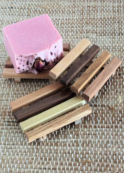 Reclaimed Wood Soap Dishes - Eco-Musings Soapery & Such - Handmade Soap - 1