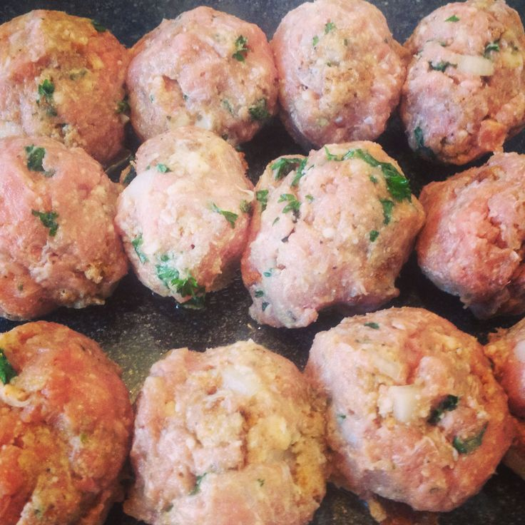 Best Ever Baked Turkey Meatballs