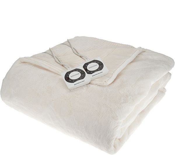 Create a cocoon of comfort with this Intellisense velvet soft blanket by Berkshire Blanket. QVC.com