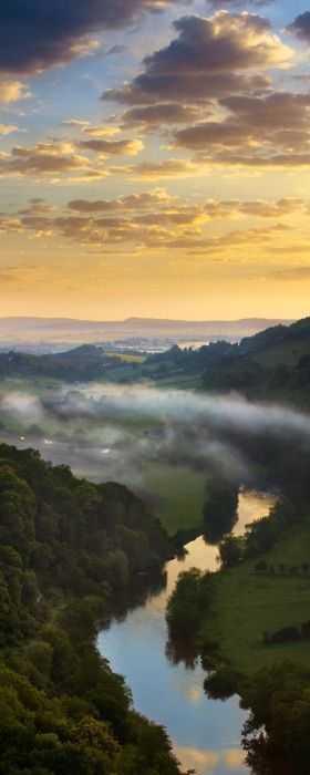 Wye Valley~ The border between England and Wales