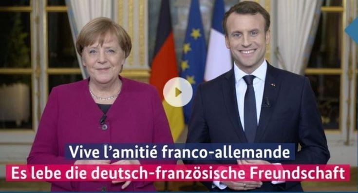 55 Jahre Élysée-Vertrag: Umweltverbände schreiben an Macron und Merkel
