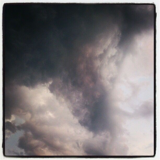 heavy weather   (Amersfoort, The Netherlands, 23rd may 2012)