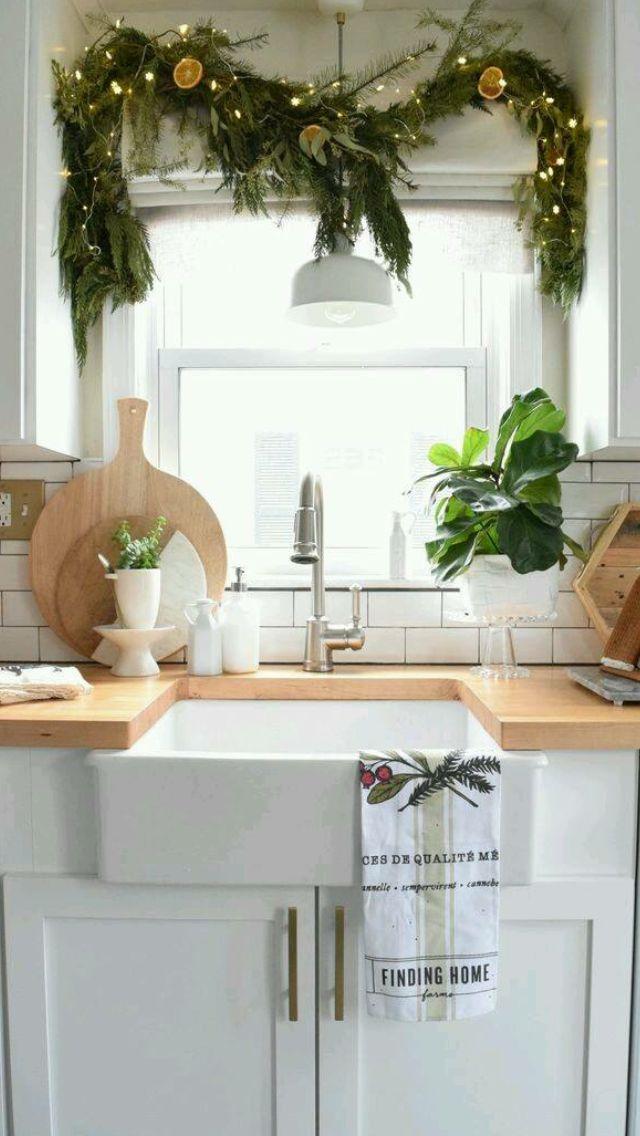 Groß Weihnachtsküchentischdekorationen Bilder - Küchenschrank Ideen ...