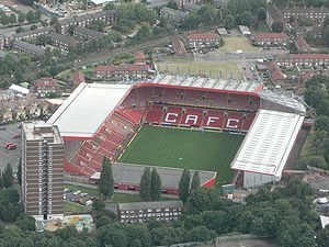 Charlton Athletic - The Valley.  Many miles have I travelled...
