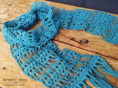 If you are new to lace, this pattern is perfect, as it is simple, and easy to follow!