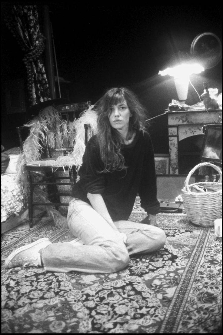 En 78, Jane Birkin abordait un côté hippy/chic avec une certaine nonchalance.