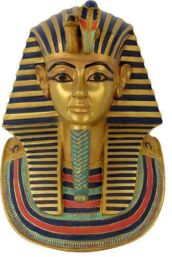 how to make a pharaoh death mask