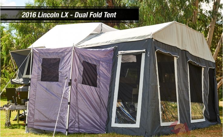 Lincoln LX Off Road Hard Floor Camper Trailer for sale in VIC, NSW, SA, QLD and WA