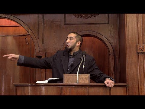 My Thoughts on Paris Shooting - Khutbah by Nouman Ali Khan - YouTube