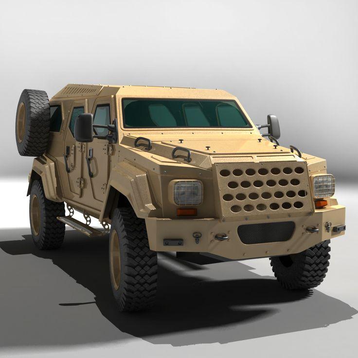 Gurkha Lapv 3D Max - 3D Model