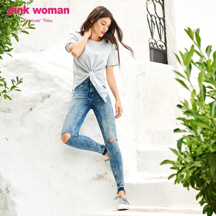 Always in fashion! Shop online at https://www.pinkwoman-fashion.com/el-gr/