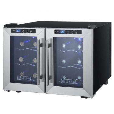 Cascina 12 Bottle Dual Zone Wine Refrigerator