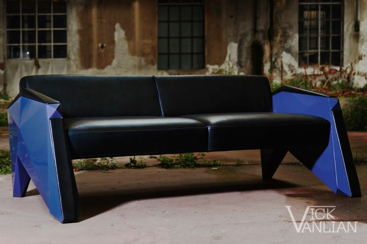 "Futuro Sofa - Designed by ""Vick Vanlian"""