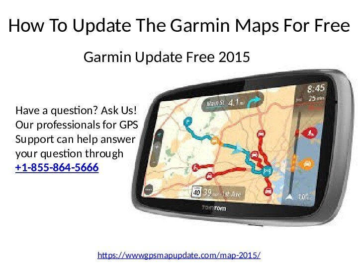 How To Update The Garmin Maps For Free Garmin Map Download Sign