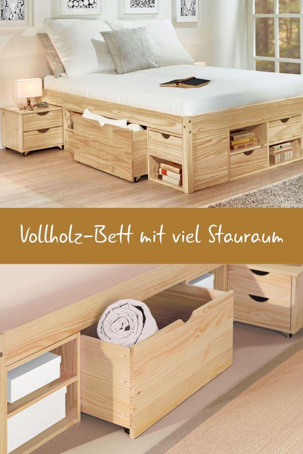 """Schubkasten-Doppelbett """"Oslo"""""""