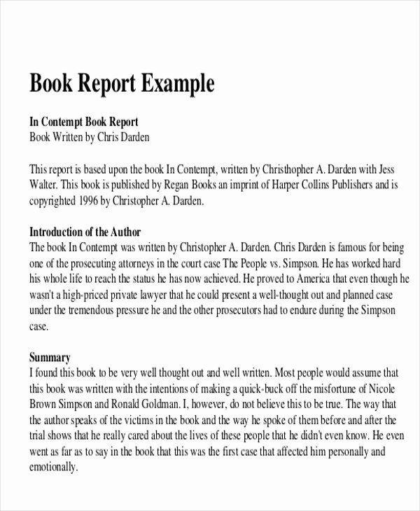Book Review Template Pdf Beautiful 10 Sample Book Report Free Sample Example Format Download Book Review Template Book Report Book Report Templates