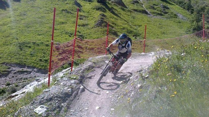 Chamonix bike trails