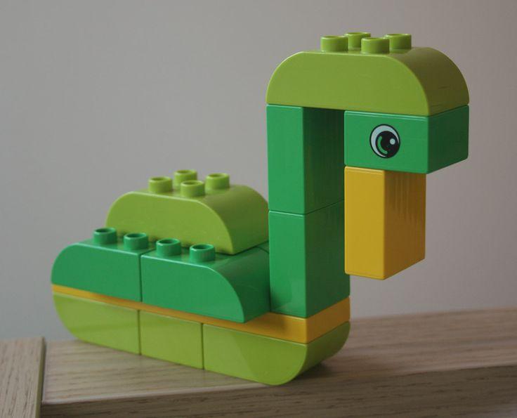 LEGO Duplo swan
